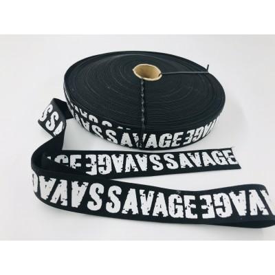 Guma czarna SAVAGE  3cm