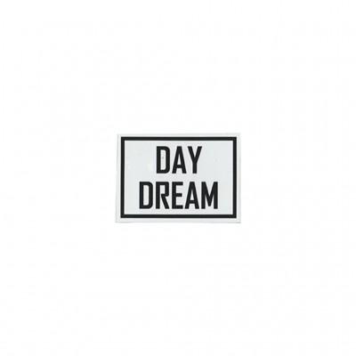 Naszywka foliowa czarny napis DAY DREAM