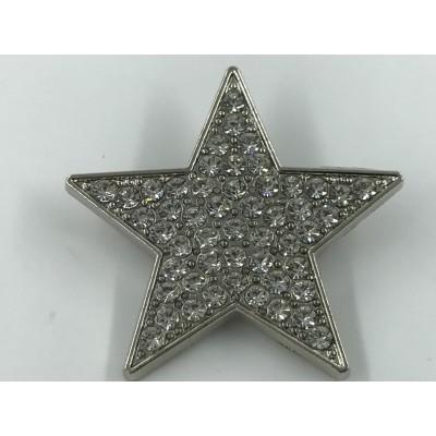 Broszka metalowa Gwiazda
