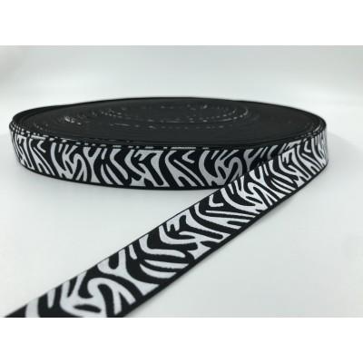 Guma ozdobna Zebra