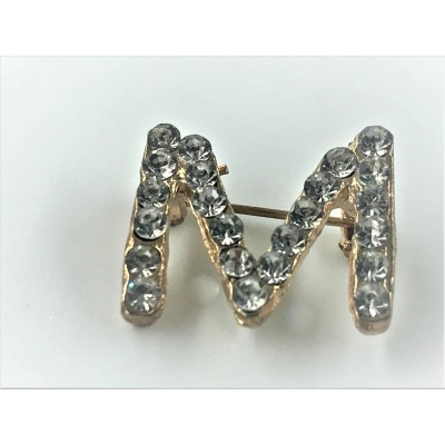 Broszka metalowa M